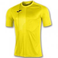 Tricouri Joma T- Tiger galben cu maneca scurta