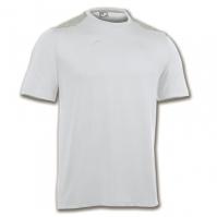 Tricouri Joma T- Travel alb cu maneca scurta