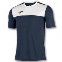 Tricouri Joma T- Winner bleumarin-alb cu maneca scurta
