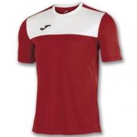 Tricouri Joma T- Winner rosu-alb cu maneca scurta