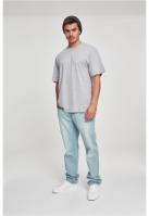 Tricouri lungi simple barbati gri Urban Classics