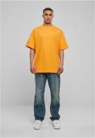 Tricouri lungi simple barbati portocaliu Urban Classics