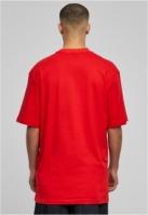 Tricouri lungi simple barbati rosu Urban Classics