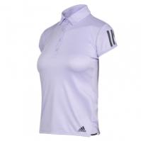Tricouri polo cu dungi adidas Club 3 Shirt pentru Femei