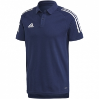 Tricouri Polo Adidas Condivo 20 bleumarin And alb ED9245
