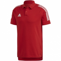 Tricouri Polo Adidas Condivo 20 rosu-alb ED9235 barbati