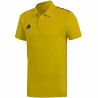 Tricouri Polo Adidas Core 18 Climalite galben FS1902