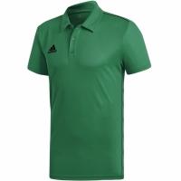 Tricouri Polo Adidas Core 18 Climalite verde FS1901