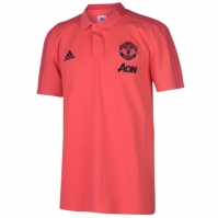 Tricouri Polo adidas Manchester United 2018 2019 pentru Barbati