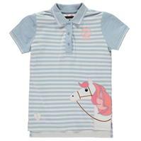 Tricouri Polo Requisite Applique pentru fetite