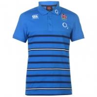 Tricouri Polo Canterbury Anglia Rugby cu dungi pentru Barbati