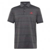 Tricouri polo cu dungi adidas Heather Shirt pentru Barbati