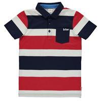Tricouri polo cu dungi Lee Cooper Shirt pentru copii