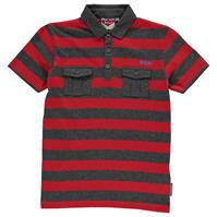 Tricouri polo cu dungi Lee Cooper YD Shirt pentru baietei