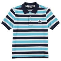 Tricouri polo cu dungi Lonsdale Yard Shirt pentru baietei