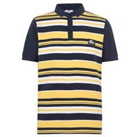 Tricouri polo cu dungi Lonsdale Yarn Dye Shirt pentru Barbati