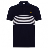 Tricouri polo cu dungi Lyle and Scott Plus Shirt pentru Barbati