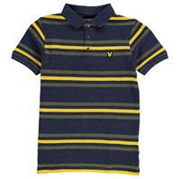 Tricouri polo cu dungi   Lyle and Scott Shirt