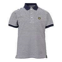 Tricouri polo cu dungi Lyle and Scott Shirt