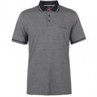 Tricouri polo cu dungi Pierre Cardin Pin Shirt pentru Barbati