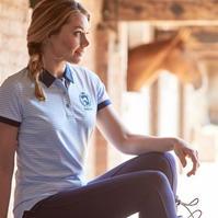 Tricouri polo cu dungi Requisite Shirt pentru Femei