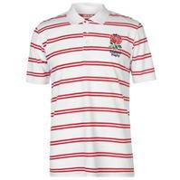 Tricouri polo cu dungi RFU England Rugby Shirt pentru Barbati