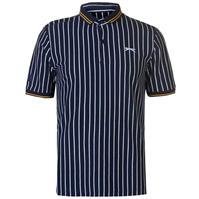 Tricouri polo cu dungi Slazenger Retro Shirt pentru Barbati