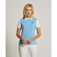 Tricouri polo Hurlingham 1875 Essential contrast pentru Femei