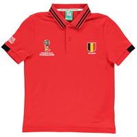 Tricouri polo FIFA Cupa Mondiala 2018 Rusia Belgia pentru copii