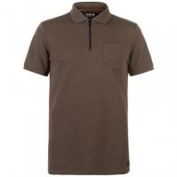 Tricouri Polo Firetrap Rib cu fermoar