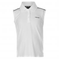 Tricouri Polo HEAD Chamber Tennis pentru fete pentru Juniori