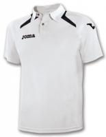 Tricouri polo Joma Champion II alb-negru