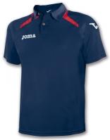 Tricouri polo Joma Champion II bleumarin-rosu