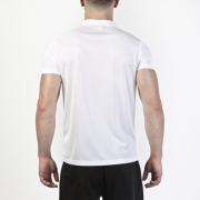 Tricouri Polo Joma alb cu maneca scurta