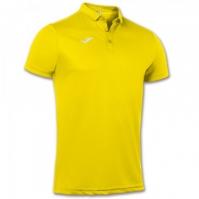 Tricouri Polo Joma Hobby galben cu maneca scurta