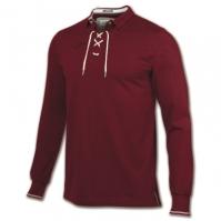 Tricouri Polo Joma Invictus rosu cu maneca lunga