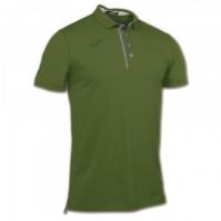 Tricouri Polo Joma Invictus verde cu maneca scurta