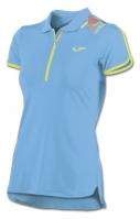 Tricouri polo Joma Trendy Sky albastru cu maneca scurta