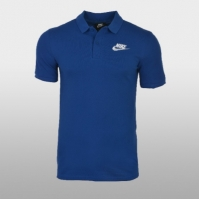 Tricou Polo albastru Nike M Nsw Ce Polo Matchup 909746-439 Barbati