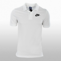 Tricou alb polo bumbac Nike M Nsw Polo Pq Matchup Barbati