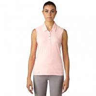Tricouri polo pentru golf adidas fara maneci pentru Femei