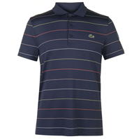Tricouri polo pentru golf Lacoste Sport cu dungi Technical