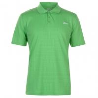 Tricouri polo pentru golf Slazenger Check pentru Barbati