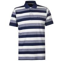 Tricouri Polo Pierre Cardin Trio Colour cu dungi pentru Barbati