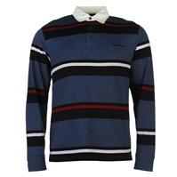 Tricouri Polo Pierre Cardin cu Maneca Lunga Rugby pentru Barbati