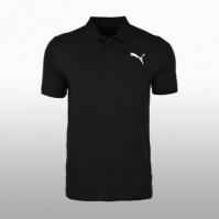 Tricou negru Polo Puma Ess Pique Polo 851759-21 Barbati