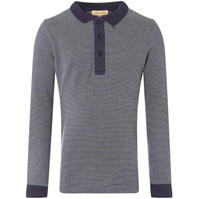 Tricouri polo Rock and Wilde EYAL PO LS TEXTURED