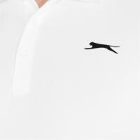 Slazenger Court Polo pentru Barbati alb