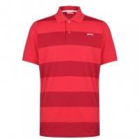 Tricouri Polo Slazenger Pique pentru Barbati rosu