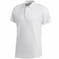 Tricouri polo Tricou Adidas Essentials Base Alb BR1052 barbati